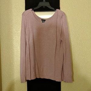 Pink long sweater